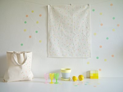 DIY kitchen towel & tote bag-1
