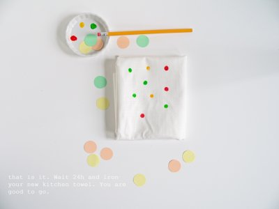 DIY kitchen towel & tote bag-5