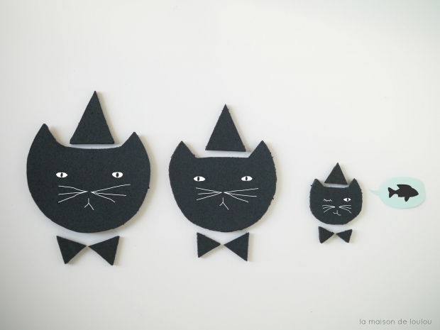 DIY free Template chalkboard cat & speechbubbles by La maison de Loulou blog-4