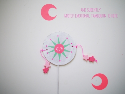 DIY emotional tambourin by La maison de Loulou-4