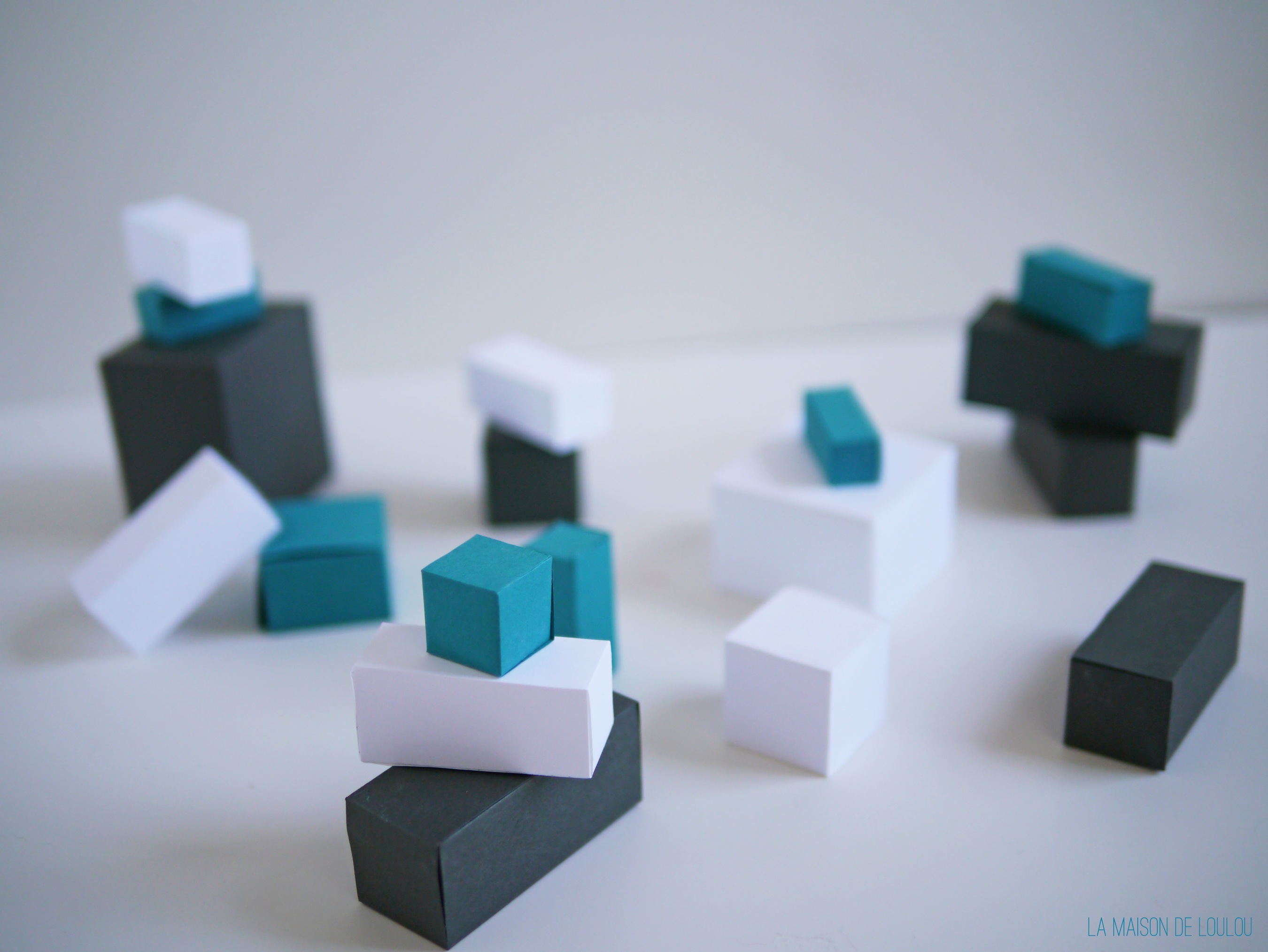 free cube templates for the diy paper robots
