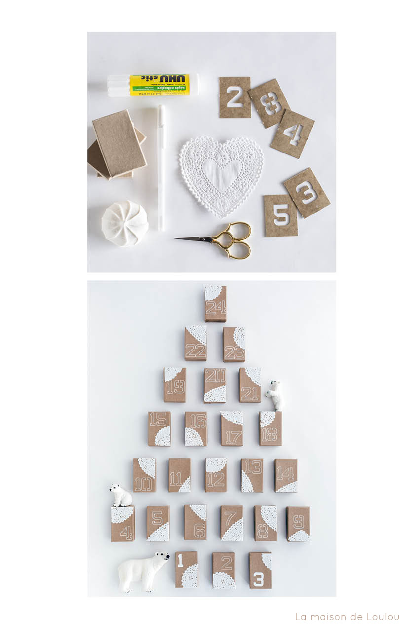 Advent calendar diy advent calendar by la maison de loulou tutorial solutioingenieria