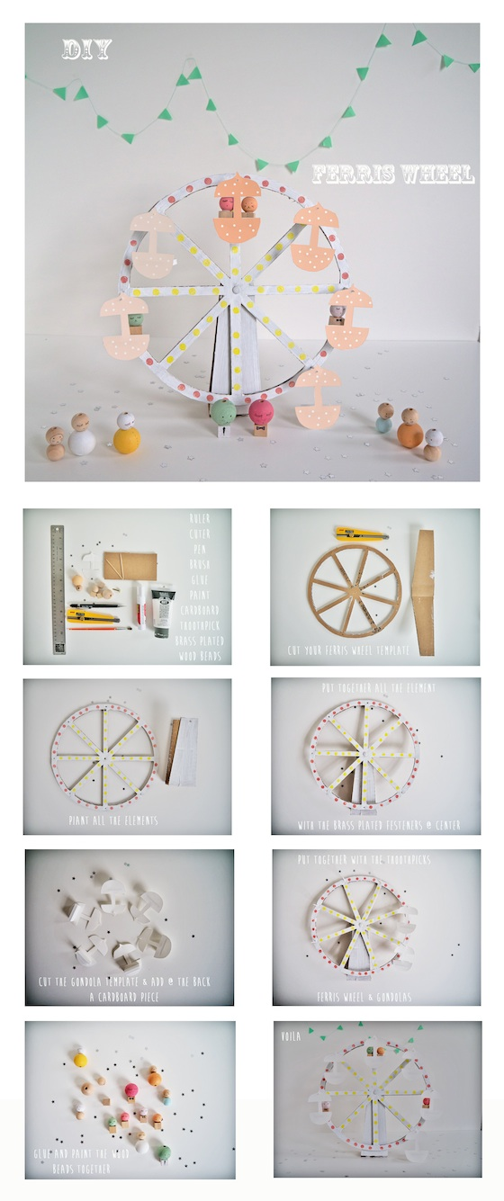 ferris wheel DIY copy