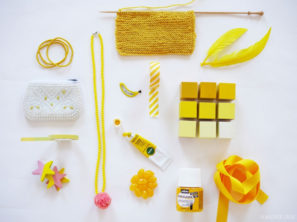 Yellow inspiration by La maison de Loulou