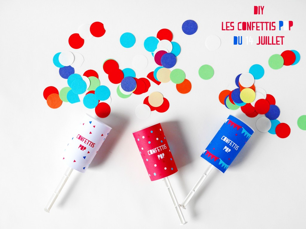 DIY + Free download of the Confettis Popper game by La maison de Loulou for Doolittle magazine