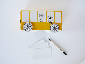 Craft School Bus by La maison de Loulou