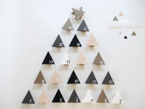DIY advent Calenday by La maison de Loulou