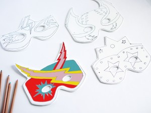 Superheroes masks by La maison de Loulou-1