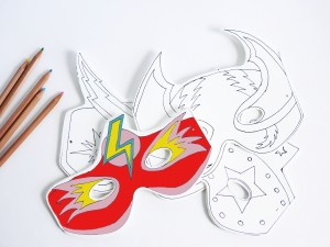 Superheroes masks by La maison de Loulou-2