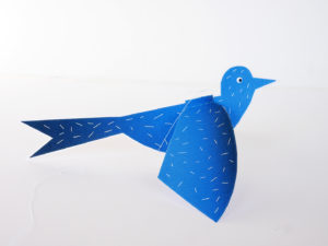 FLAPPING BIRD PAPER TOY by LA MAISON DE LOULOU