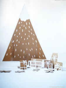 Xmas house & tree by La maison de Loulou1