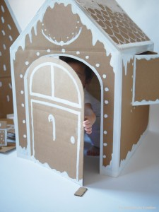 Xmas house & tree by La maison de Loulou4