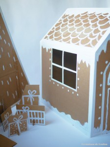 Xmas house & tree by La maison de Loulou5