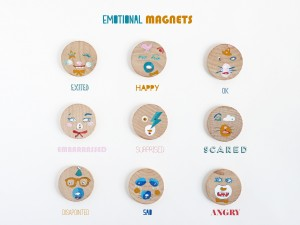 DIY emotional magnets by La maison de Loulou 1