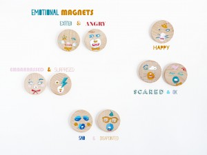 DIY emotional magnets by La maison de Loulou 4