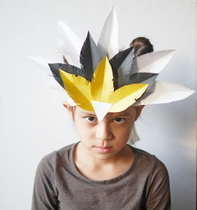 DIY feather crown by La maison de Loulou-1