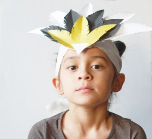 DIY feather crown by La maison de Loulou-2