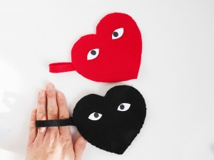 DIY heart pouch by La maison de Loulou for Hello Wonderful 6