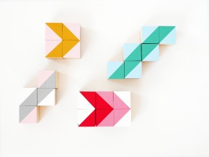 DIY geometric wood block by La maison de Loulou-1