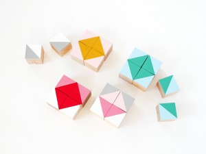 DIY geometric wood block by La maison de Loulou-4