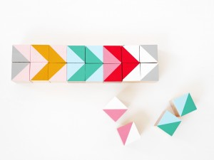 DIY geometric wood block by La maison de Loulou-5