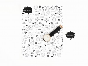 Time coloring watch by La maison de Loulou-2