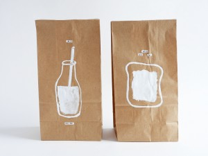 DIY- custom your lunch paper bags by La maison de Loulou-4
