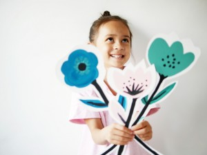 DIY flowers cards by La maison de Loulou-2