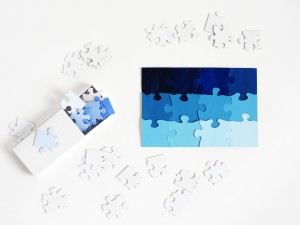 DIY travel shading puzzle by La maison de Loulou
