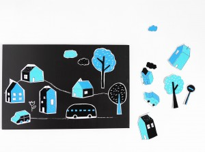 DIY city magnets by La maison de Loulou-4