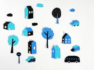 DIY city magnets by La maison de Loulou-7
