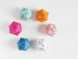 DIY travel diamond dice by La maison de Loulou 1