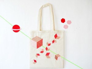 Tote bag Cosmic for Miss-Etc by La maison de Loulou-2