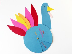 Thanksful turkey Spinner by LA MAISON DE LOULOU