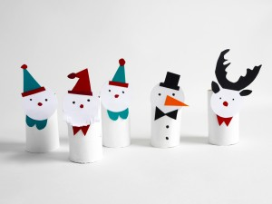FREE PRINTABLE CHRISTMAS FIGURINES BY LA MAISON DE LOULOU