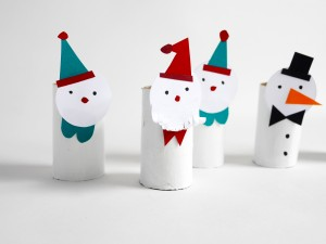 Christmas paper figurines by La maison de Loulou-5