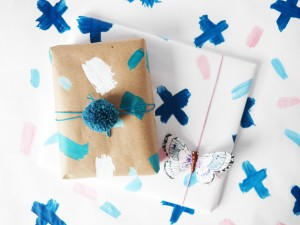 DIY personalized gift wrapping by LA MAISON DE LOULOU