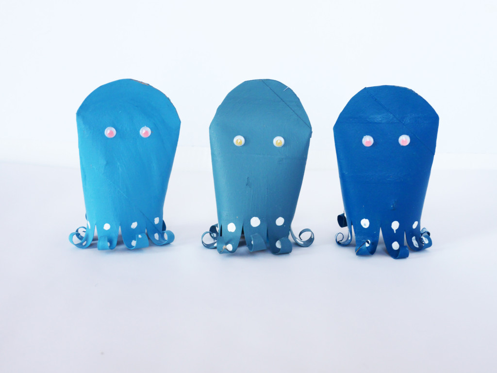 SUPER FUN OCTOPUS SHELL GAME by LA MAISON DE LOULOU