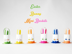 EASTER MINI BASKET BY LA MAISON DE LOULOU