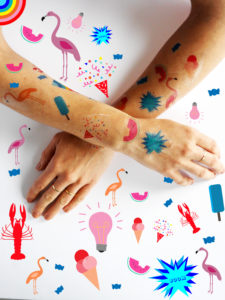 Printable Summer Tattoos by LA MAISON DE LOULOU