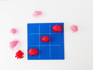 DIY Crab Sea Shell TIC TAC TOE by LA MAISON DE LOULOU