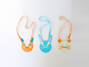 DIY duct tape animal bags by LA MAISON DE LOULOU