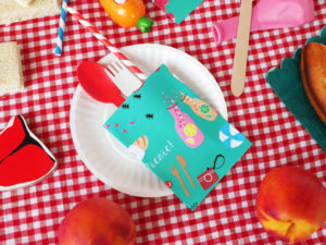 PRINTABLE Picnic set by LA MAISON DE LOULOU