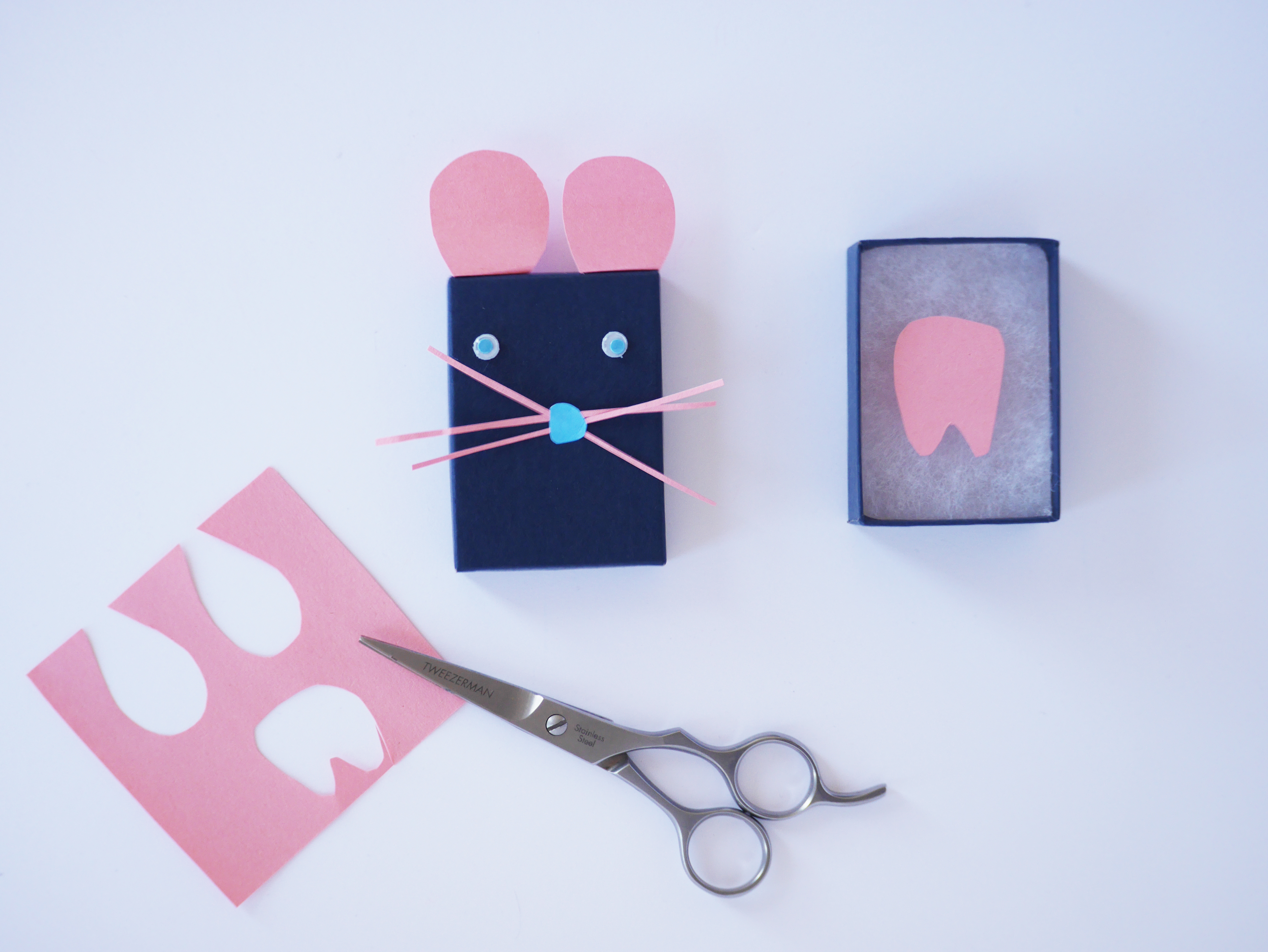 Tooth fairy box craft - Tooth Fairy Craft Box By La Maison De Loulou