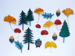 Woodland Craft Ornaments by LA MAISON DE LOULOU
