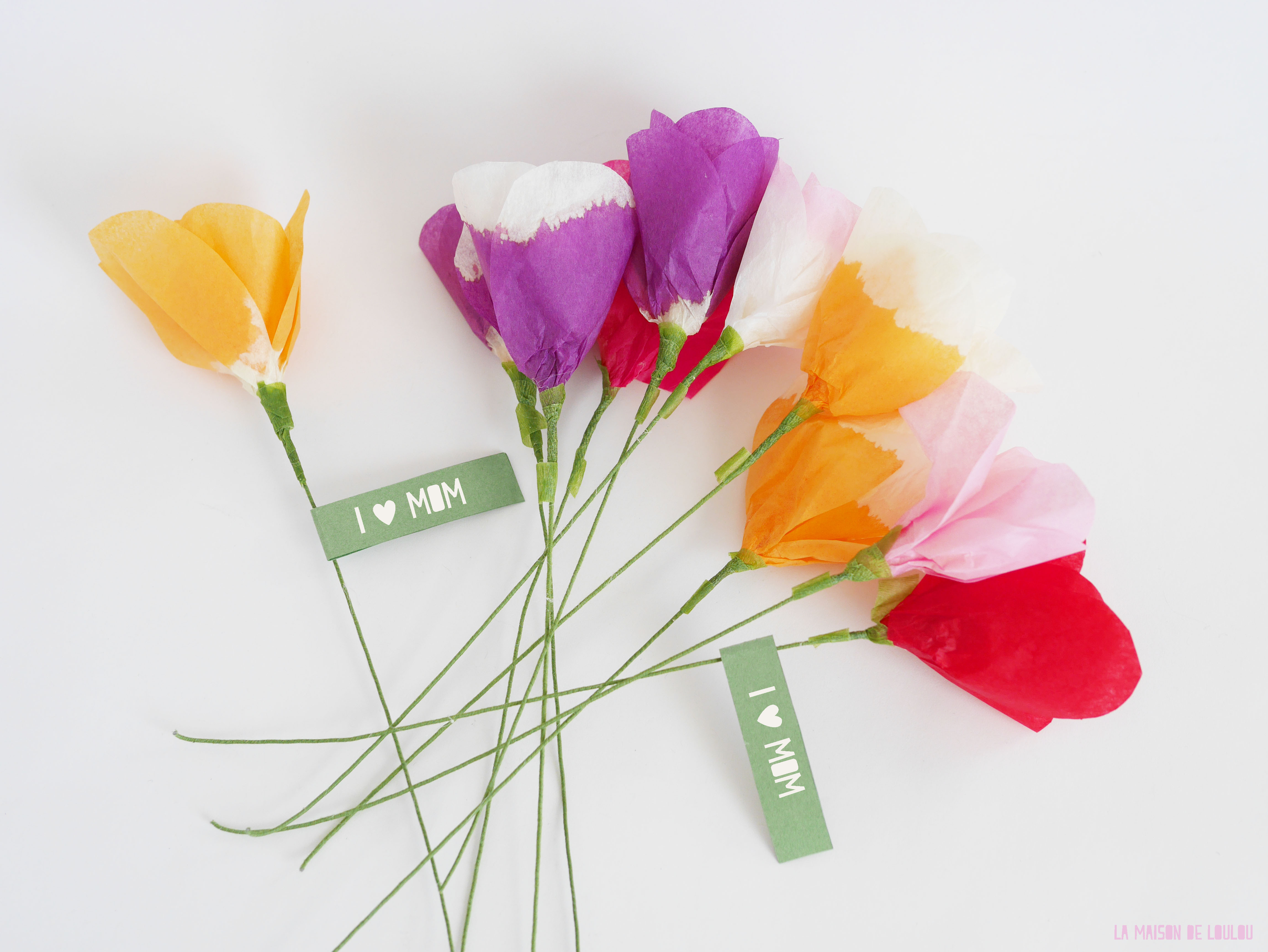 Paper Flower Craft For Mother S Day Flowers Healthy