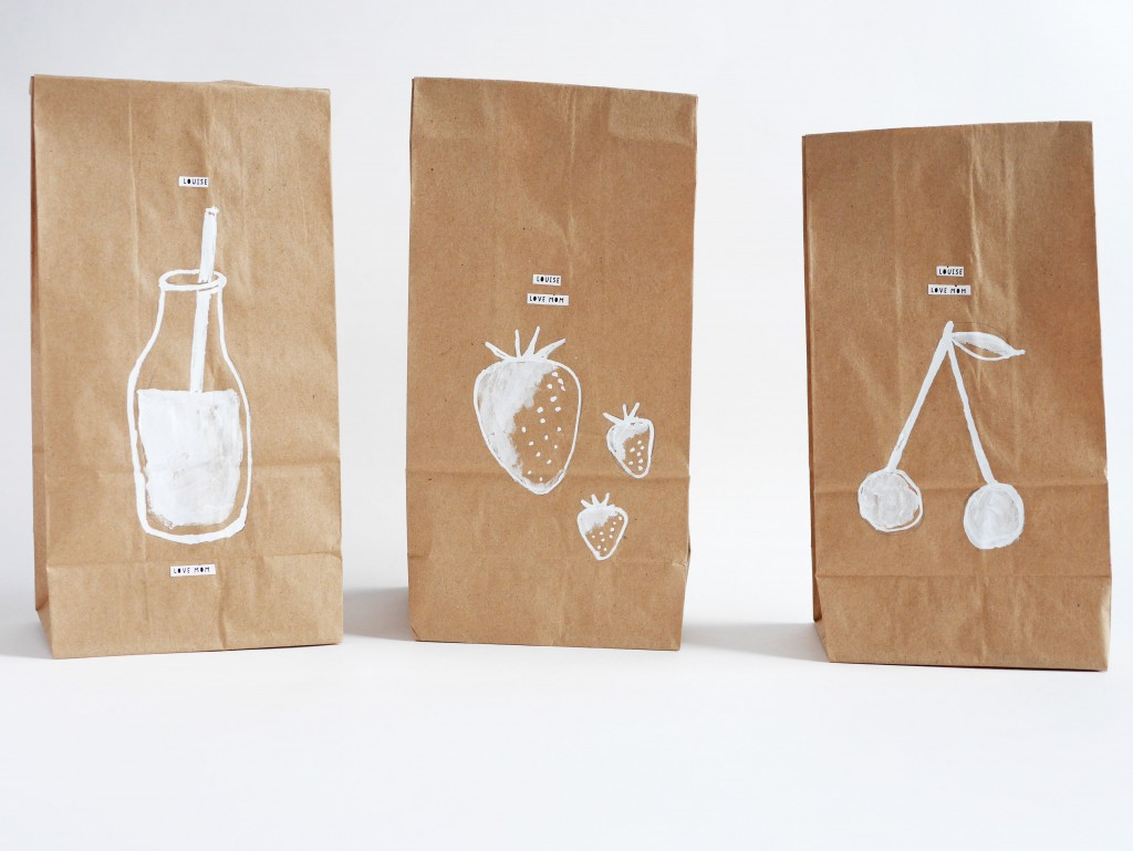 Diy Custom Your Own Brown Paper Lunch Bag