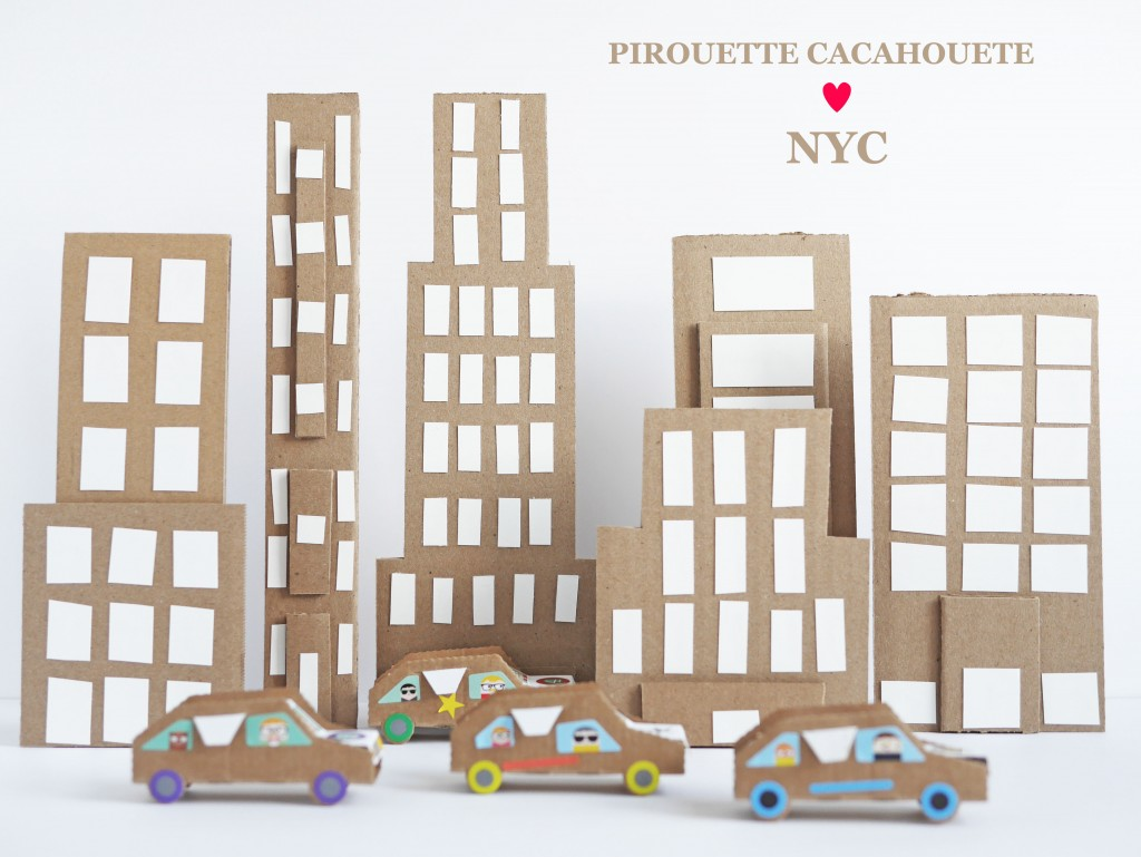 Pirouette Cacahouete Cardboard Cars